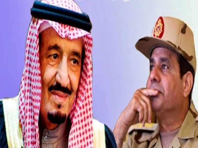 Sisi exploits paper penalty to blackmail King Salman