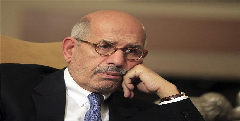 """ElBaradei warbling about the Syrian crisis """""""""""