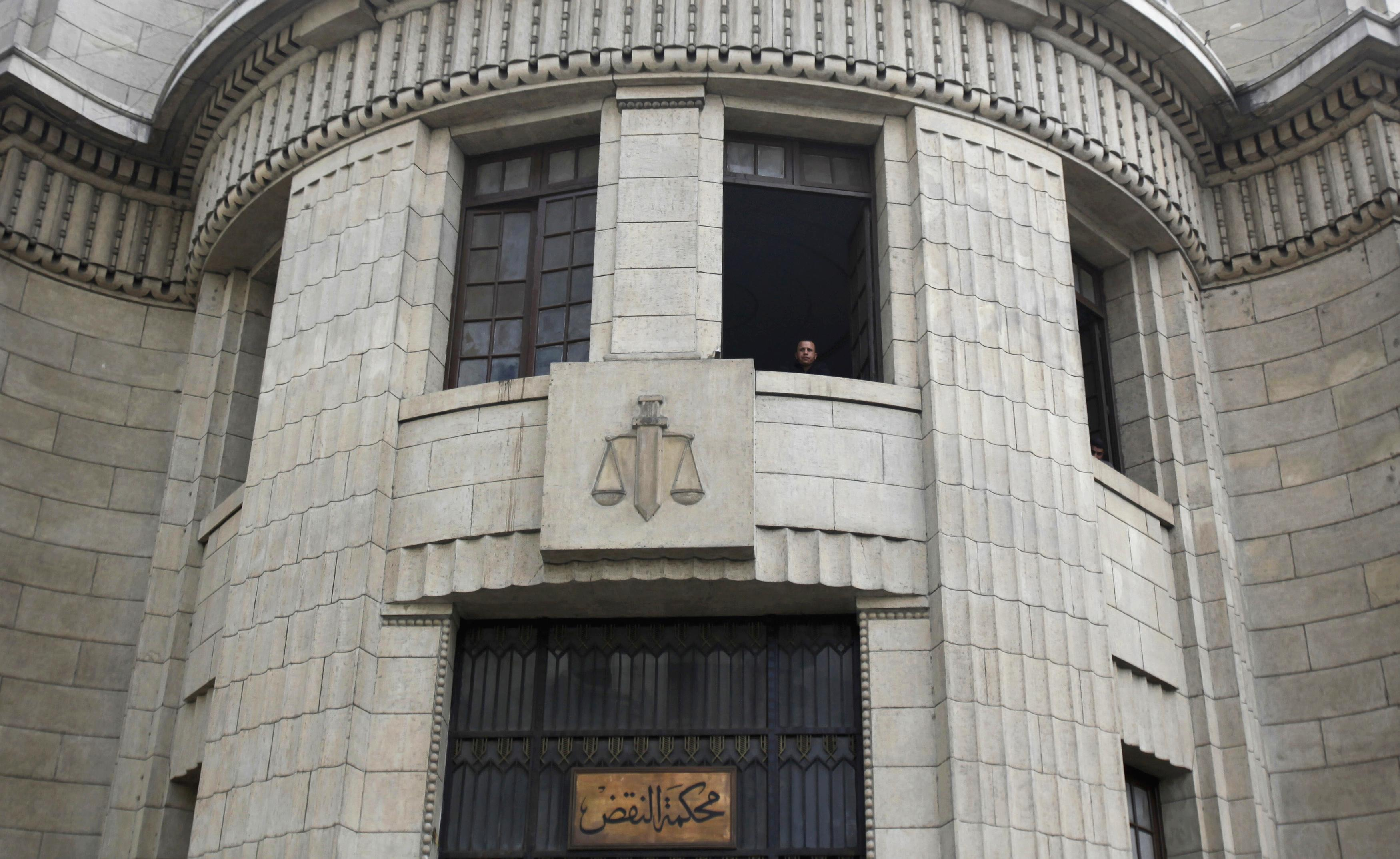 A view of the High Court of Justice in Cairo November 1, 2011. Egypt's judiciary has emerged from the uprising that toppled Hosni Mubarak as one of the few institutions retaining some credibility, but the weight of public expectations may have forced it to take on too much, far too fast. Picture taken November 1, 2011. To match Analysis EGYPT-JUDICIARY/  REUTERS/Mohamed Abd El-Ghany  (EGYPT - Tags: POLITICS CRIME LAW)